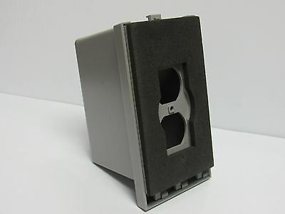 Taymac 10510 Deep Cover For One Duplex Receptacle 10510 New