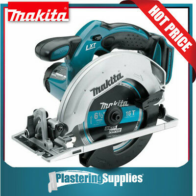"MAKITA Cordless Circular Saw XSS02Z 18V LXT Lithium-Ion 6-1/2"" DSS611 Bare Tool"