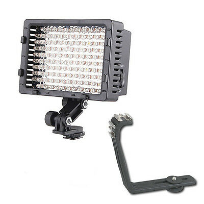 Pro 2 LED video light for Canon XH-G1 XH-A1 camcorder Manfrotto litepanels panel