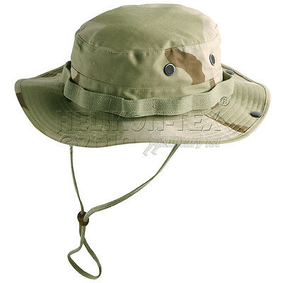 Helikon Army Combat Gi Boonie Jungle Hat Hiking Cotton Ripstop Desert Camo S-Xl