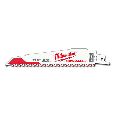 Milwaukee 48-01-7021 6 in. 5 TPI The AX Sawzall Blade (100 Pk)