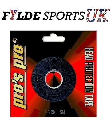 Racket Head Frame Protection Tape - 5metre roll - 2.5cm wide! 24hour dispatch.