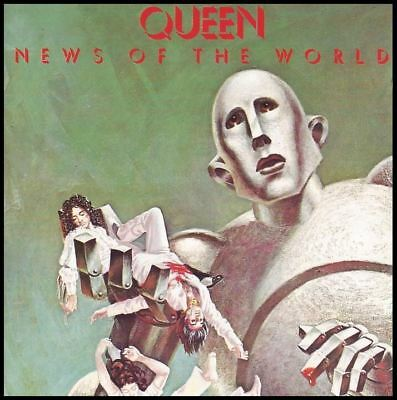 Queen - News Of The World Cd ~ We Will Rock You ~ Freddie Mercury  *New*
