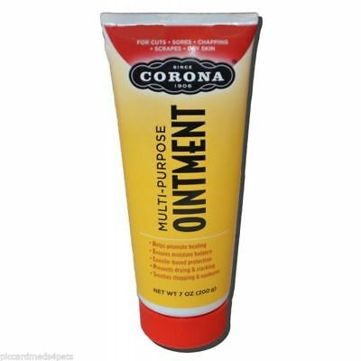 Corona ointment 7oz tube cuts, abrasion, sores with minimal scaring