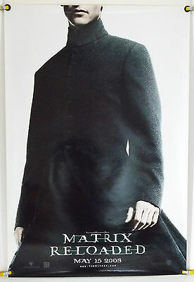 The Matrix Reloaded Ds Rolled Neo Tsr Orig 1Sh Keanu Reeves (2003)