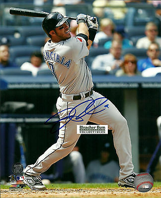 JP Arencibia Signed Rookie Baseball MLB  8x10 Photo Toronto Blue Jays Picture