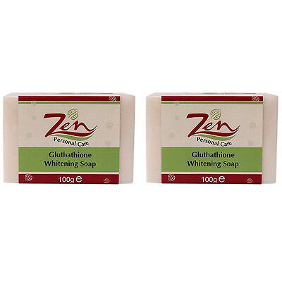 ZEN GLUTHATHIONE WHITENING SOAP Organic Pk2 Whitening Antiwrinkle clear pimples