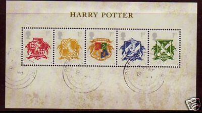 Great Britain 2007 Harry Potter Fine Used Miniature Sheet