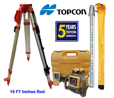 New Topcon Rotary Laser Level with Priority or Express Shipping