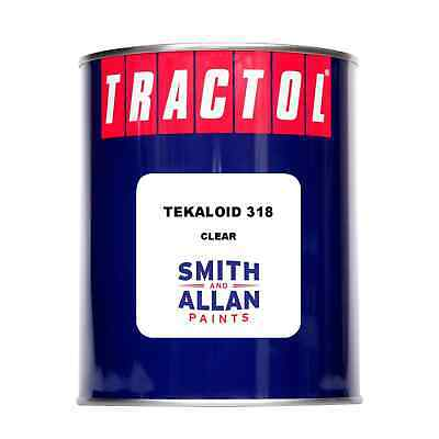 Tekaloid 318 Coach Enamel Paint Clear Lacquer Varnish Clearcoat  1 Litre
