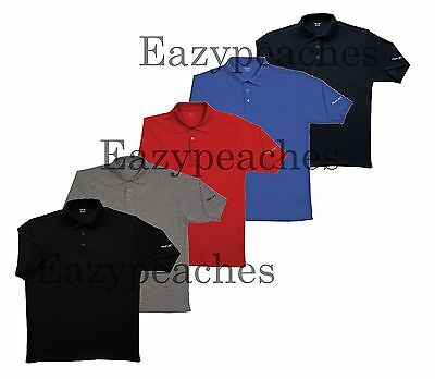 REEBOK GOLF NEW Mens Size S-L XL 2XL 3XL 4XL 5XL Dri Wick Polo Fit Sport Shirts