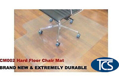 New Hard Floor Office Chair Mat Vinyl 1200 x 900mm