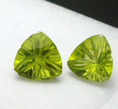 Peridot - Trillion Millenium facettiert 7x7mm (1845A)
