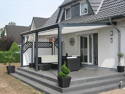 terrassen berdachung berdachung carport alu 6 x 4 0 m vs glas inkl montage. Black Bedroom Furniture Sets. Home Design Ideas