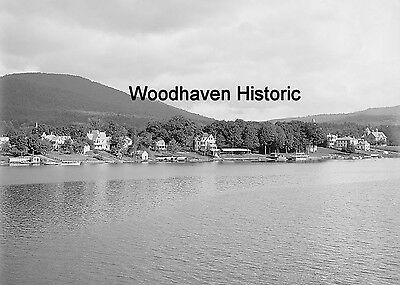 Fort William Henry Hotel and Prospect Mountain Lake George, NY 1911 Photo 1