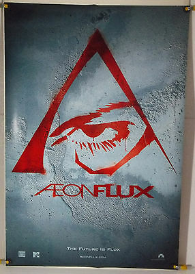 Aeon Flux Ds Rolled Adv Orig 1Sh Movie Poster Charlize Theron (2005)