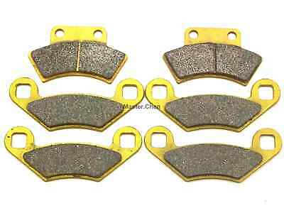 Front Rear Brake Pads For Polaris Sportsman Xplorer 400 L 4x4 400L 1994 1995 SET