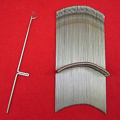 Neu 50 Nadeln für Brother Strickmaschinen KR587 - KR850 KnittingMachine Needles