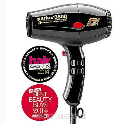 Parlux 3500 Super Ceramic & Ionic Compact Hair Dryer