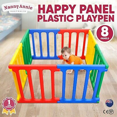 White Baby Child Pet Safety Gate Hands Free Security Barrier First Years Y3600