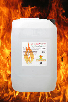 Flametect C-WD Decking & Wood. 25 Litre Fire &  Flame Retardant Spray