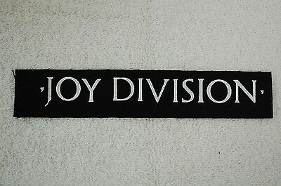 Joy Division Unknown Pleasures The Smiths The Cure Rock Cloth Patch (CP128)