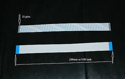 Data Cable for Mimaki /Roland/ Mutoh Printers 21pin/23cm (9inch).  US Seller.