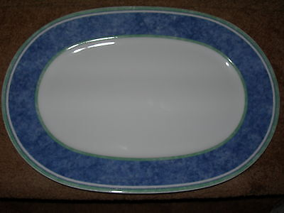 Villeroy & Boch Switch 3 Country Collection Oval Serving Platter 14 3/4 Germany