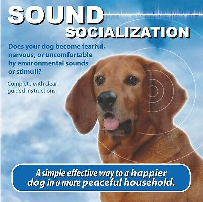 Sound Socialization CD Training for dogs, puppies, pets