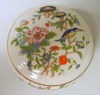 Aynsley England Pembroke HAND PAINTED PORCELAIN JEWELRY Vanity Trinket BOX
