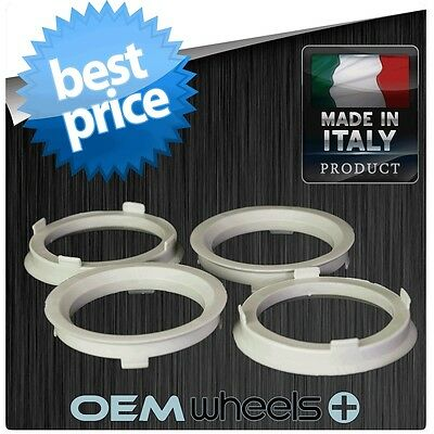 POLYCARBONATE HUB CENTRIC HUBCENTRIC RING RINGS FOR 72.6 72.56 RIMS to 67.1 CAR