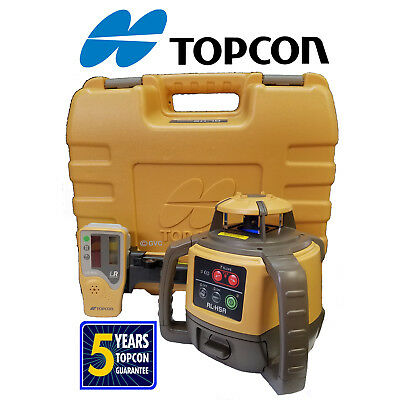 4 (Four) Topcon RL-H5A Rotating Laser Levels -4 DB Packages Shipped in Two Boxes