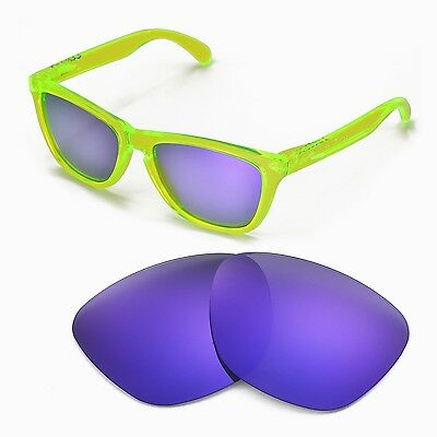 New Walleva Polarized Purple Lenses For Oakley Frogskins