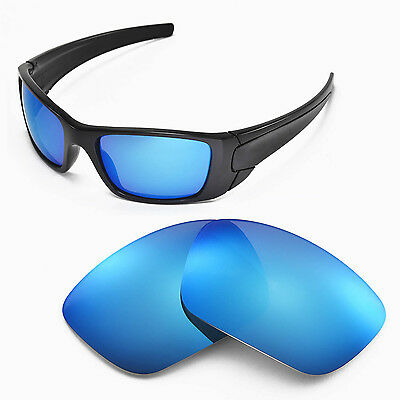 New Walleva Polarized Ice Blue Lenses For Oakley Fuel Cell
