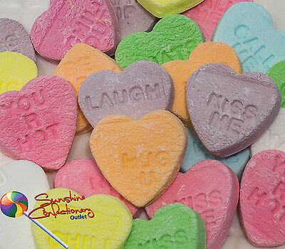 Conversation Hearts  -  400 grams  -  Lollies, Wedding Favours Postage Included