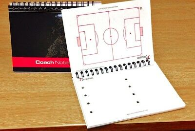 Precision Training A6 Football Pro Coaches Notepad - Cheapest Price - FREE P&P!