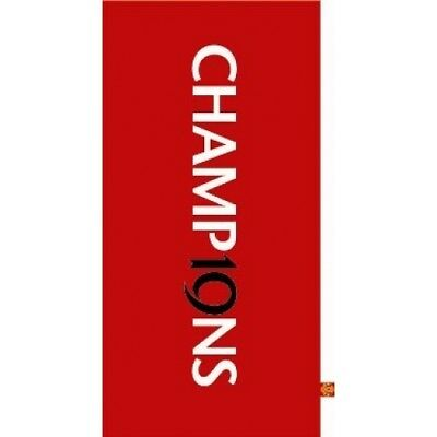 Manchester United  Champions CLEARANCE FC Football Printed Official Beach Towel