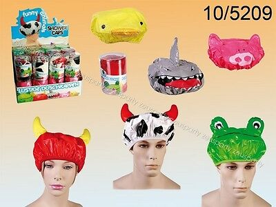 ... Impermeabile Animali Cappello Shower Cap Per Bambini New.