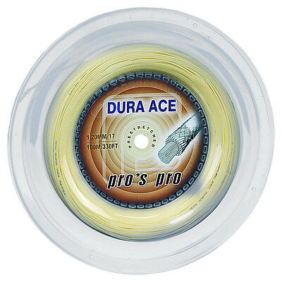 Pro's Pro Dura Ace 1.20mm 17 Squash Strings 110M Reel