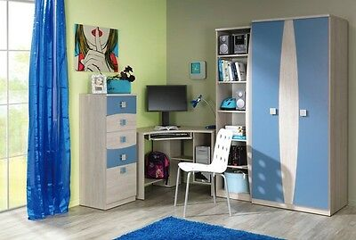 Kids Bedroom TOM - Children Furniture Cabinet -Desk-Wardrobe- Chest of drawers