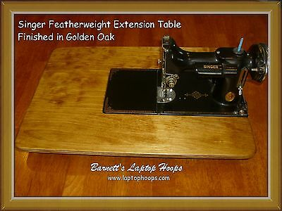 Featherweight 221 222k table - extension table - You pick the color choice
