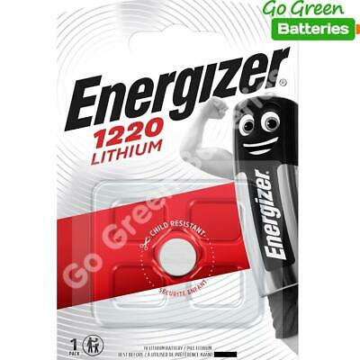 10 x Energizer 1220 CR1220 3V Lithium Coin Cell Battery DL1220 KCR1220, BR1220