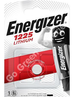 10 x Energizer 1225 CR1225 3V Lithium Coin Cell Battery DL1225 KCR1225, BR1225