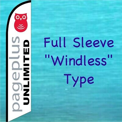 PAGE PLUS UNLIMITED BANNER FLAG Cell Phone Advertising Sign Feather Swooper Bow