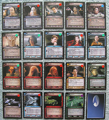 Star Trek CCG 2e Call to Arms Rare Cards Part 2/2