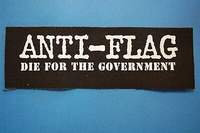 Anti Flag Cloth Patch (CP115) Punk Rock Jacket Backpack Bad Religion Adicts