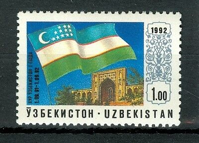 BANDIERA - NATIONAL FLAG UZBEKISTAN 1992 Independence
