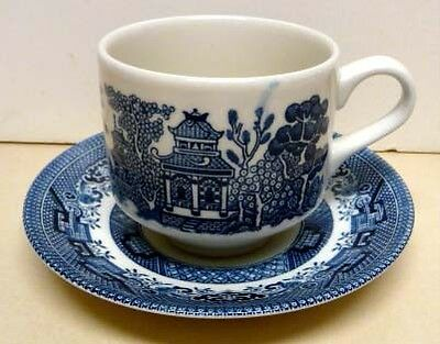 Churchill -Made In Staffordshire England - Set- Cup&saucer