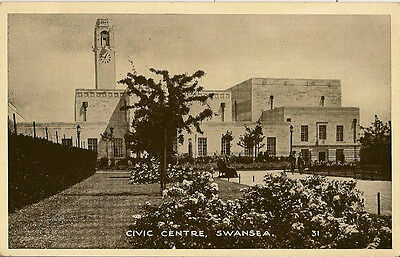 SWANSEA ( Wales) : Civic Centre