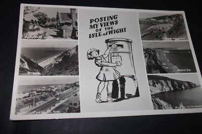Old Postcard - Posting My Views Of The Isle Of Wight